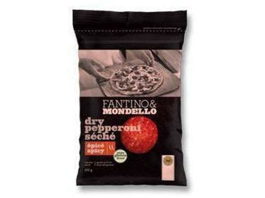 Fantino & Mondello Dry Spicy Sliced Pepperoni 12 p/cs