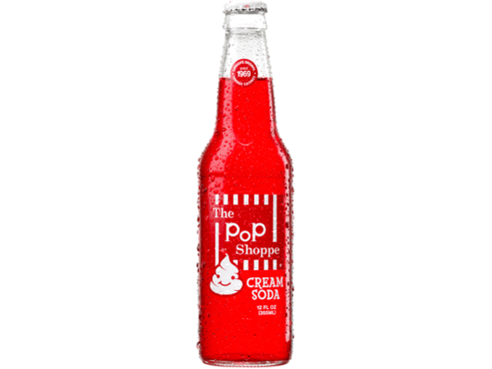 Popshoppe Cream Soda 12 p/cs