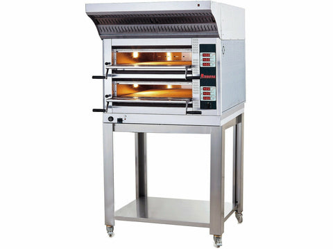Rinnova E6352W Electric Pizza Oven 108x72 cm Double Deck