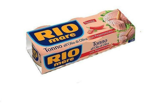 Rio Mare Tuna In Oil Chilli 24x3x80g