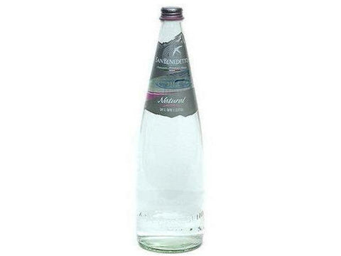 San Benedetto Flat Mineral Water Glass 1 L 12 p/cs