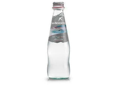 San Benedetto Flat Mineral Water Glass 250 ml 24 p/cs