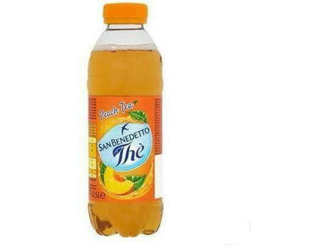 San Benedetto Iced Tea Peach Plastic 500 ml 24 p/cs
