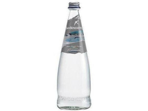 San Benedetto Sparkling Mineral Water Glass 750 ml 12 p/cs
