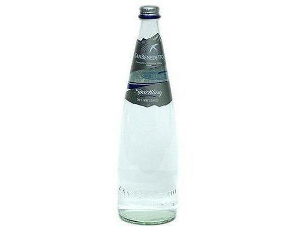 San Benedetto Sparkling Mineral Water Glass 1 L 12 p/cs