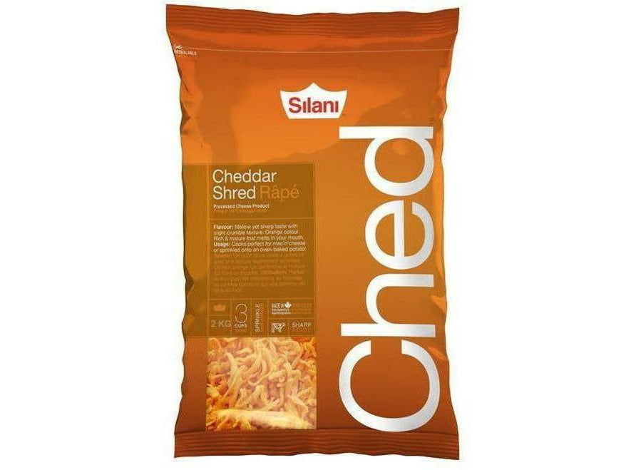 Silani Cheddar Shred 10 x 2 kg p/cs