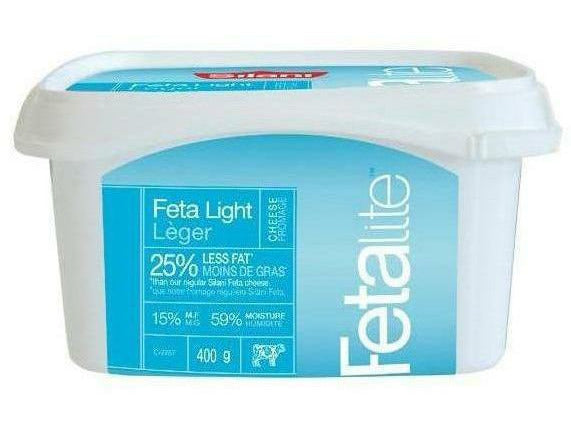 Silani Feta Light Tub 6 x 400g p/cs