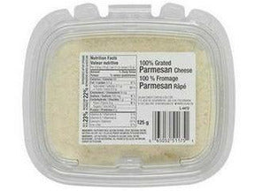 Silani Grated Parmesan Tub 24 x 125g p/cs