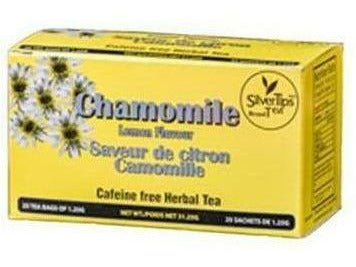 Silvertips Tea Chamomile Lemon