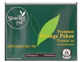 Silvertips Tea Premium Orange Pekoe (Black Tea)