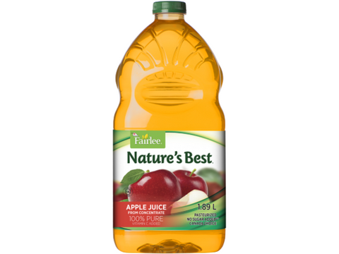 Fairlee  Apple Juice 1.89L  P/Unit