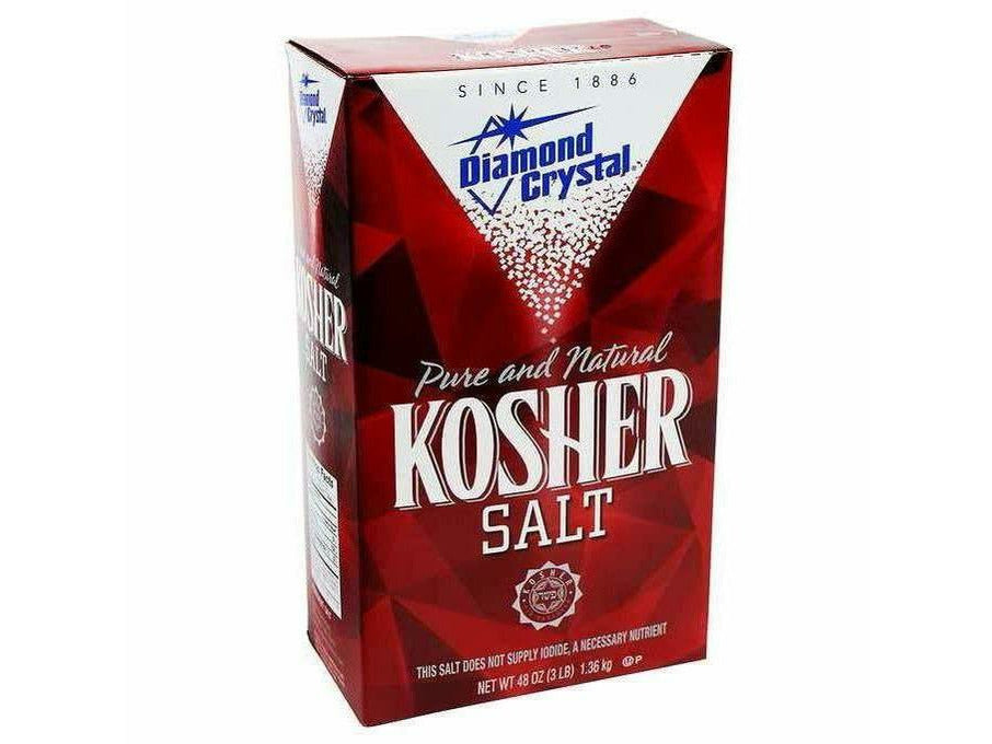 Diamond Crystal Kosher Salt   12 x 1.36kg per\case