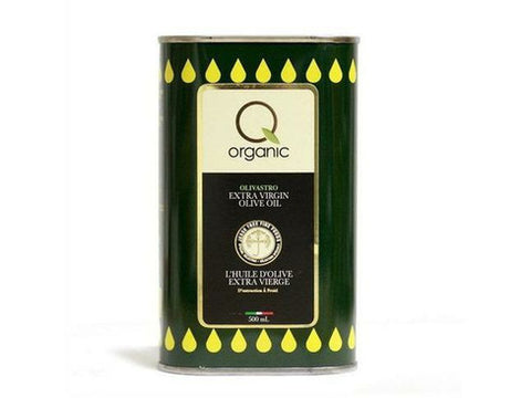 Q Organic Extra Virgin Olive Oil Tin 1 x 5L