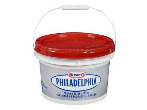 Kraft Philadelphia Deli Cream Cheese  3Ltr. Pail