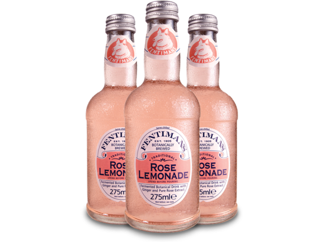 Fentimans Rose Lemonade  24 p/cs