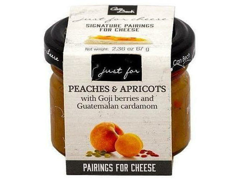 Just for Cheese-Peach Apricot 12 x 70g