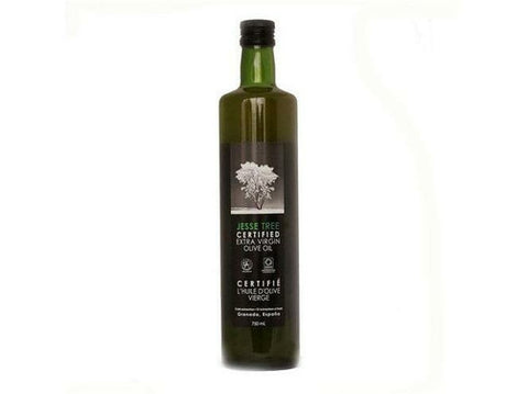Jesse Tree Certified Extra Virgin Olive Oil EVOO (Spanish) 12 x 750ml