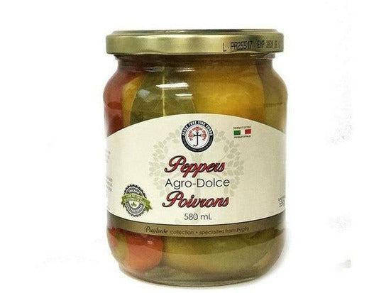 Agro Dolce Pepper 6 x 580ml