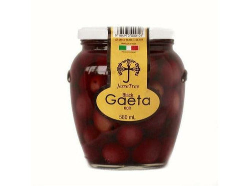 Black Gaeta Olives 9 x 580ml