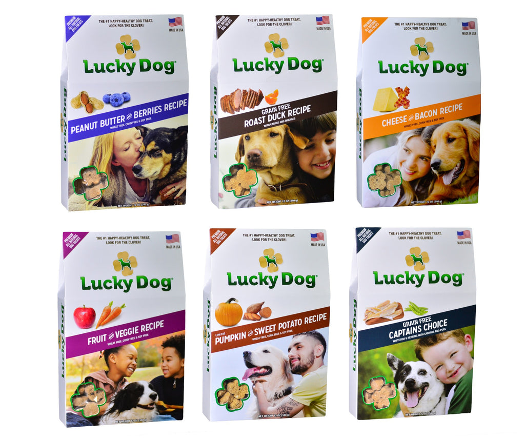 Lucky Dog® Treats to Unveil New Iconic Treat Shape and Packaging at 2016 Global Pet Expo in Orlando, FL, Booth #880