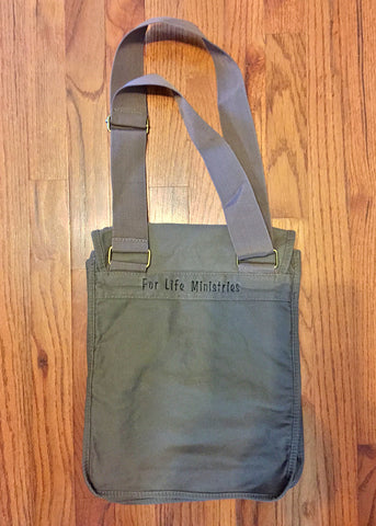 For Life Pigment-Dyed Canvas Field Bag
