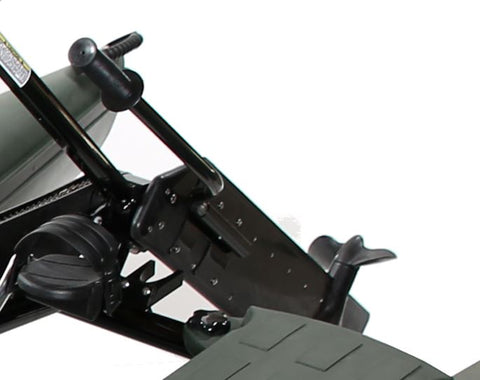 Image of the Hydrobike's Lever Arm and Bracket