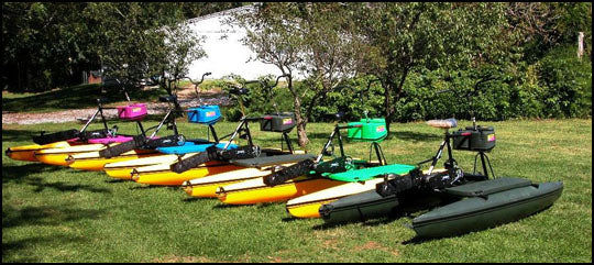A Rainbow of Hydrobikes!