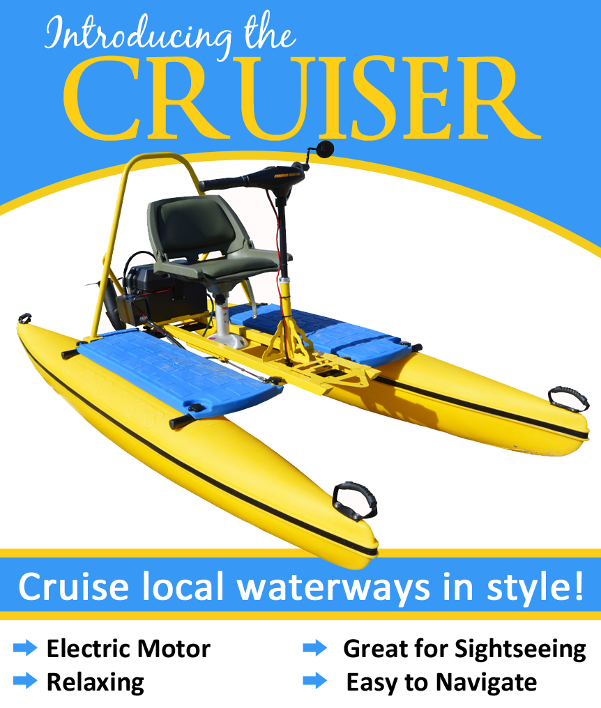 Hydrobike Cruiser - electric water bike