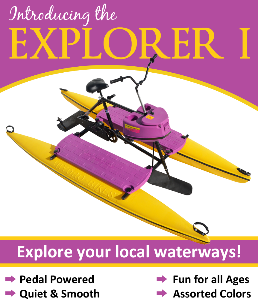 Hydrobike Explorer I - water bike