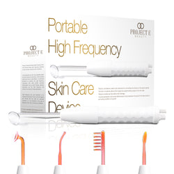D Arsonval High Frequency Wand Neon Neon Gas Orange Red Skin Care Ti Project E Beauty