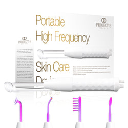 D Arsonval High Frequency Wand Argon Argon Gas Purple Violet Skin Ca Project E Beauty