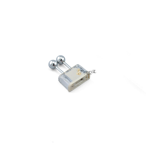 Galvanic Roller head For Use With Wireless Microcurrent Galvanic Facial Lift Ion Skin Rejuvenation Beauty Device PE094 Parts - project-e-beauty