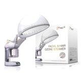 2 in 1  Facial + Hair Steamer with O3 Ozone Steamer Device Home or Salon Use - Project E Beauty