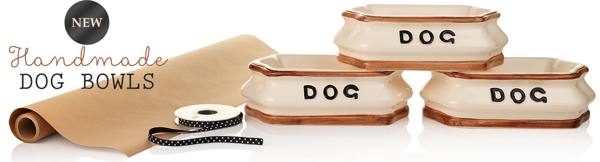 handmade bog bowls, water bowl for dogs