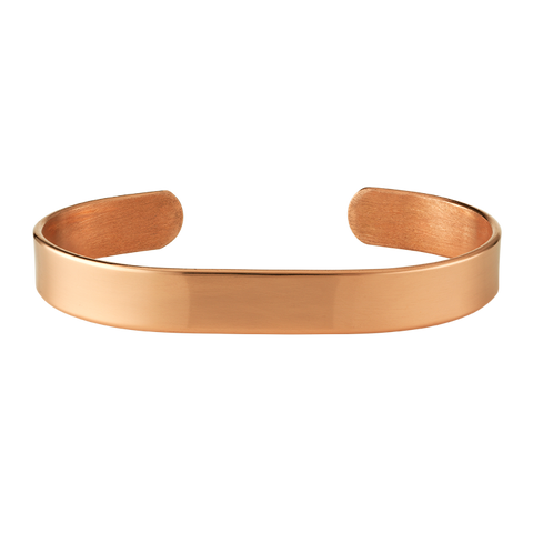 10mm Plain Copper Bangle