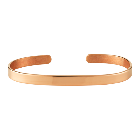 6mm Plain Copper Bangle