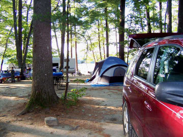 Beginner's Guide to Car Camping brought to you by Stockstill Outdoor Supply