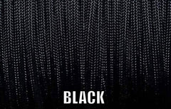 Black Type III 550 Paracord by Stockstill Outdoor Supply