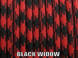 Black Widow Type III 550 Paracord by Stockstill Outdoor Supply