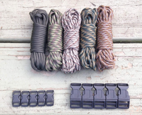 100 ft Camo Combo Paracord Kit by Stockstill Outdoor Supply