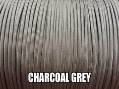 Charcoal Grey Type III 550 Paracord by Stockstill Outdoor Supply