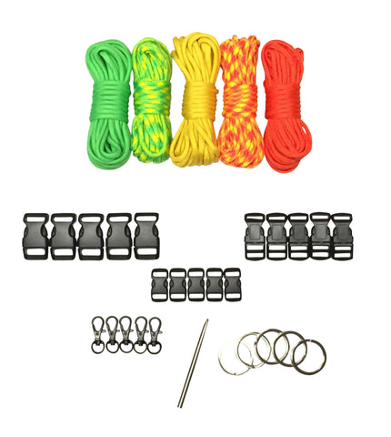 100 ft Citrus Paracord Kit XXL by Stockstill Outdoor Supply