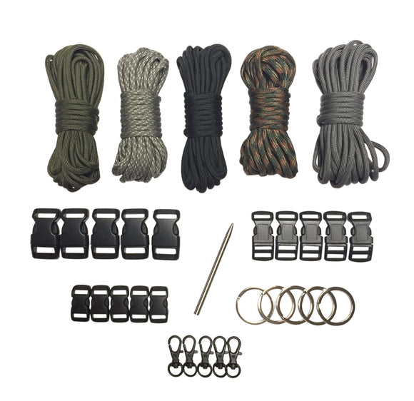 100 ft. Dark Night Paracord Kit XXL by Stockstill Outdoor Supply