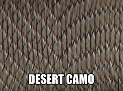 Desert Camo Type III 550 Paracord by Stockstill Outdoor Supply