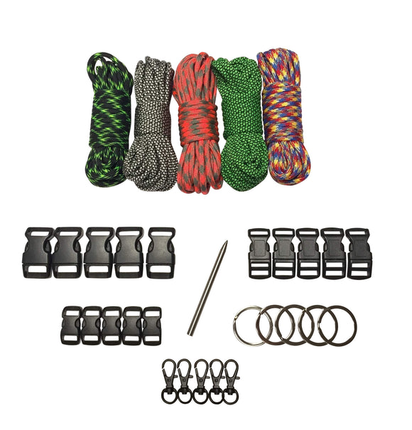 100 ft Diamond Hunter Paracord Kit XXL by Stockstill Outdoor Supply