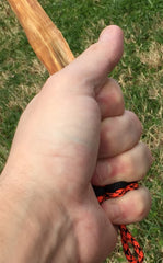 Custom Fatwood Firestarter w/ Paracord Handle by Opossum's Paracord & Stockstill Outdoor Supply 3
