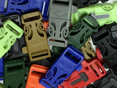 Multicolored Firesteel Whistle Paracord Buckles by Stockstill Outdoor Supply 2