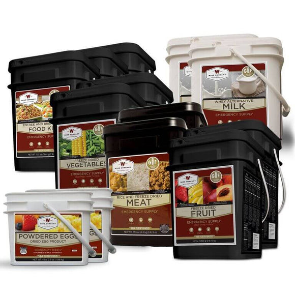 Gluten Free Premier Kit – 1 Month Supply for 1 Person - 1 GF 84 Serving,1 Milk , 1 GF Fruit, 1 GF Veggie, 1 GF Protein & 1%