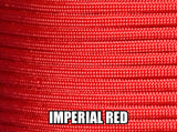 Imperial Red Type III 550 Paracord by Stockstill Outdoor Supply