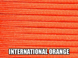International Orange Type III 550 Paracord by Stockstill Outdoor Supply